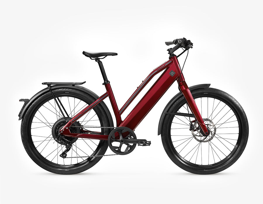 Stromer-ST1 - 2020-Speed Pedelec-M - Comfort-Deep Red-500Wh-urban.ebikes