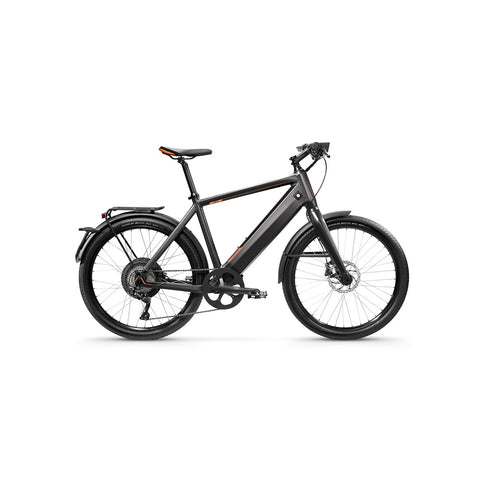 "Stromer-ST1X EAPC - UK Law Compliant 15.5mph-Classic ebike-Charcoal-17"" Sport-814Wh-urban.ebikes"