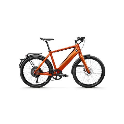 "Stromer-ST1X EAPC - UK Law Compliant 15.5mph-Classic ebike-Orange-17"" Sport-814Wh-urban.ebikes"