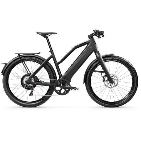 "Stromer-ST3-Speed Pedelec-Medium - 17"" Comfort-Deep Black-814Wh-urban.ebikes"