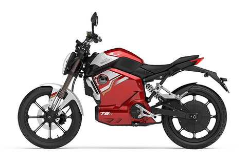Super Soco-TSX 1500-Electric Moped-Red-urban.ebikes