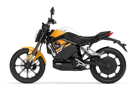 Super Soco-TSX 1500-Electric Moped-Orange-urban.ebikes