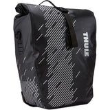 Thule-Thule - Pack'n Pedal Shield panniers in black-Luggage-Large 48 Litre-urban.ebikes