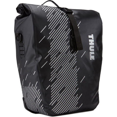 Thule - Pack'n Pedal Shield panniers in black-Luggage-Thule-Large 48 Litre-urban.ebikes