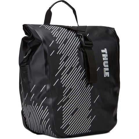 Thule-Thule - Pack'n Pedal Shield panniers in black-Luggage-Small 28 Litre-urban.ebikes