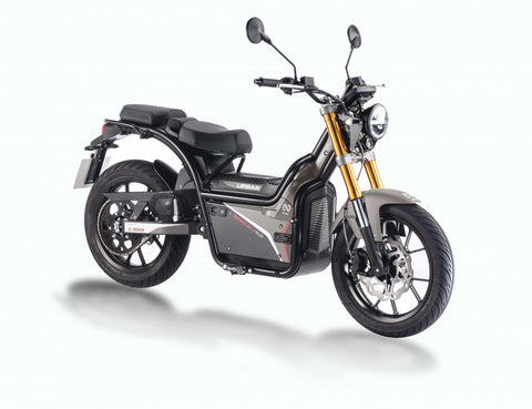 Rieju-Nuuk Urban - 30mph-Electric Moped-Black-Urban (Road Tyres)-urban.ebikes