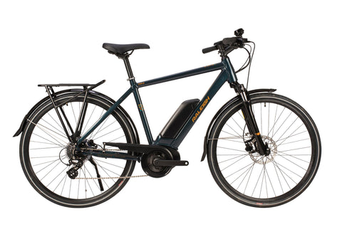 Raleigh-Motus Electric Bike Crossbar Blue-Classic ebike-48cm-urban.ebikes