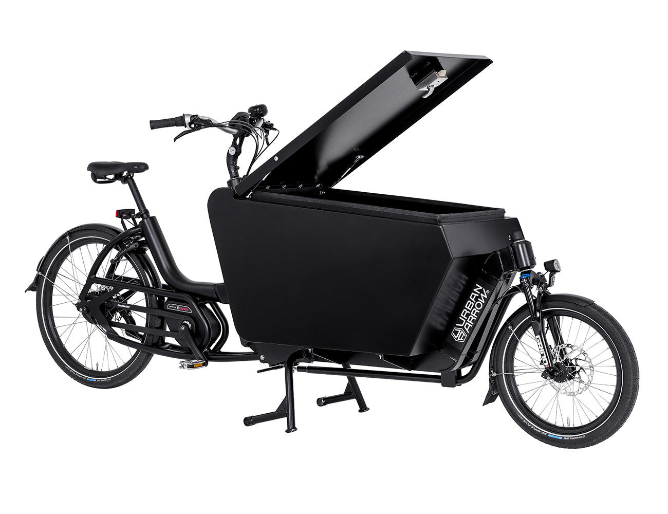 Urban Arrow-Cargo L-Cargo eBike-Performance-Aluminium-Black-urban.ebikes