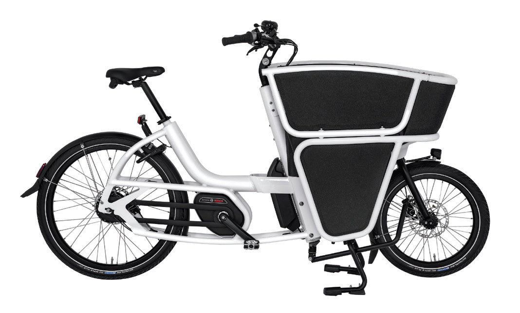 Urban Arrow-Shorty-Cargo eBike-White-Active Line Plus Disc Deore 400Wh-urban.ebikes