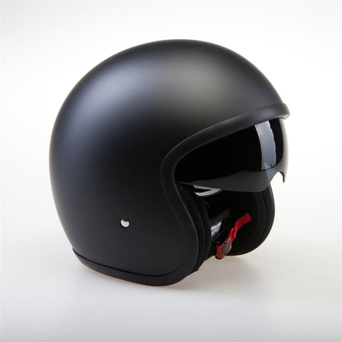 Viper-Open Face Retro Helmet RS-V06-Moped Helmet-Matt Black-XS - 54cm-urban.ebikes