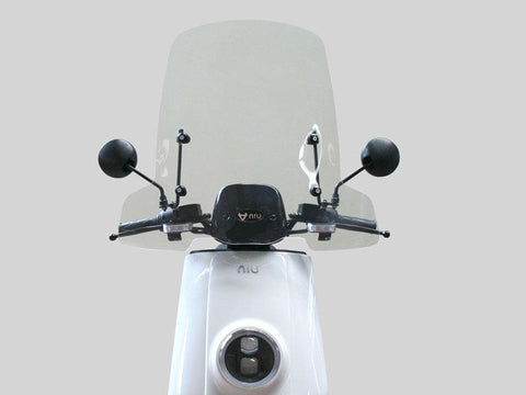 NIU-NIU Windshield-Accessory-N Series / NGT / N Cargo - Med 685mm Clear-urban.ebikes