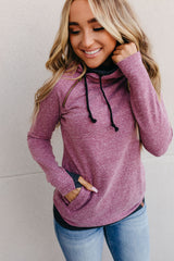 DoubleHood™ Sweatshirt - Blended Berry