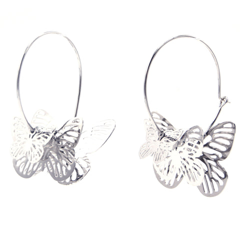 Live Butterfly Earrings