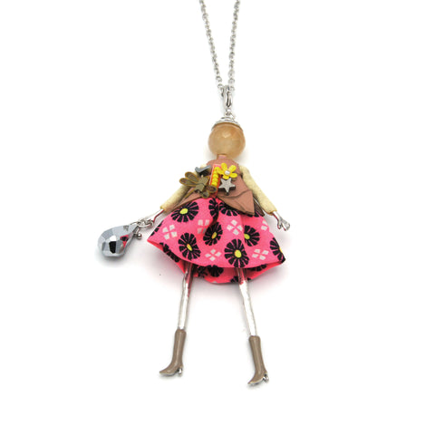 Beyonce French Doll Long Necklace
