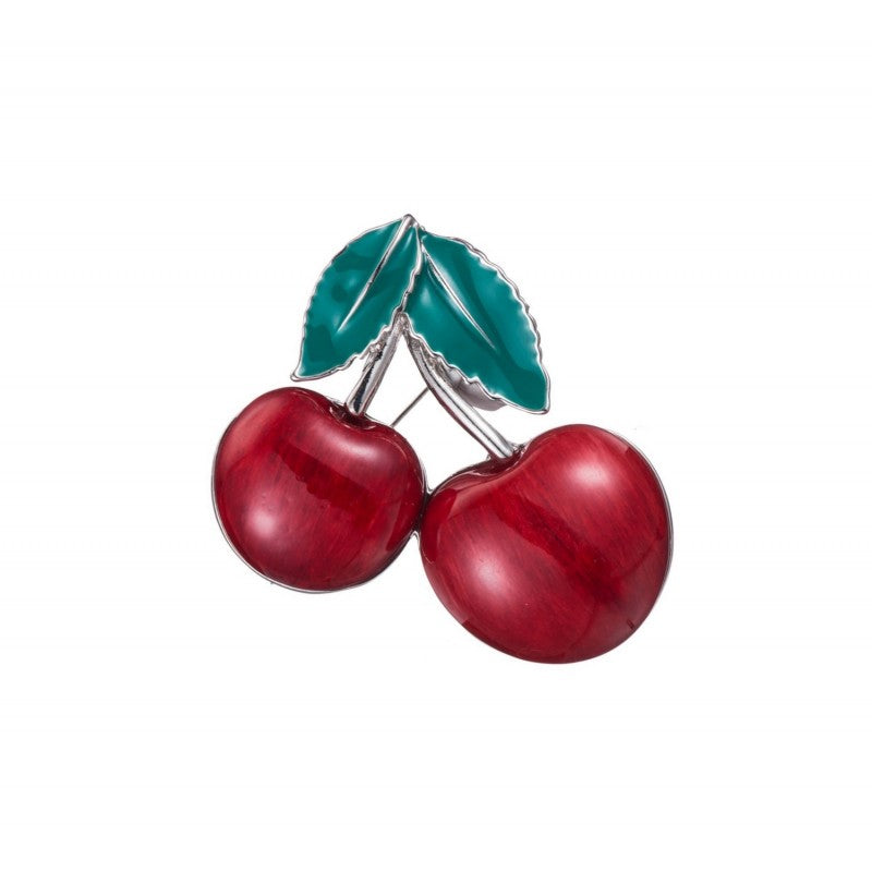 Cherry Brooch