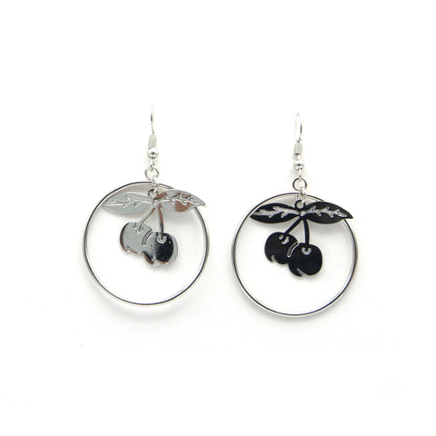 Cherry in a loop Earrings