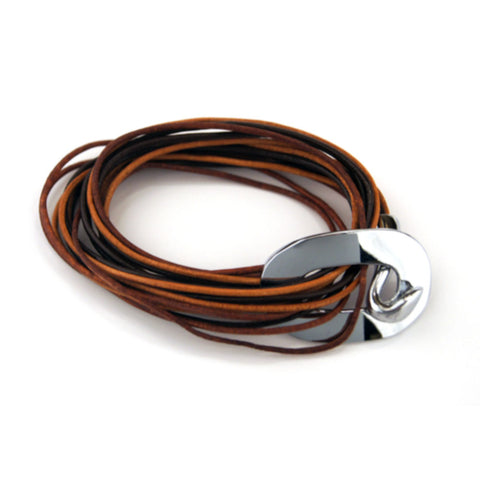 Electric Bracelet - 2 Tone Brown