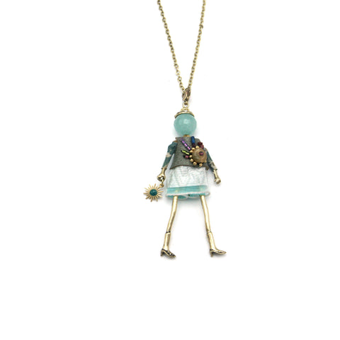 Jessica French Doll Long Necklace