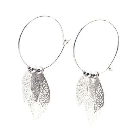 Live Leaf Earrings