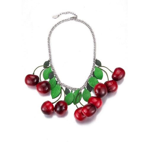 Cherry Necklace - Statement