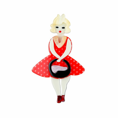 Marilyn French Doll Long Necklace - Medium