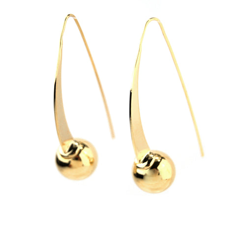 Milano Earrings - Gold