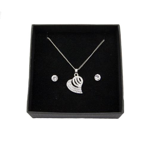 Pendant set  - Heart