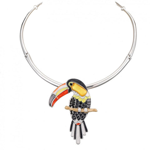 Toucan Collar Necklace