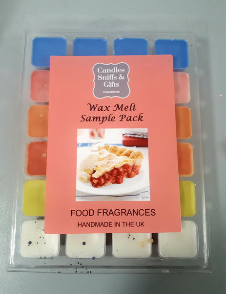 Wax Melt Sample Pack Food - Candles Sniffs & Gifts