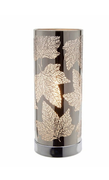 Silver Maple Leaf Touch Sensitive Electric Burner - Candles Sniffs & Gifts