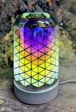 3D Diamond Ultrasonic Electric Diffuser - Candles Sniffs & Gifts