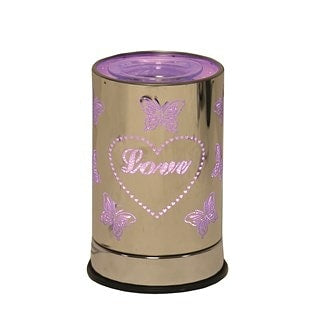 PRE ORDER NEW Colour Changing Love Electric Wax Melt Burner - Candles Sniffs & Gifts