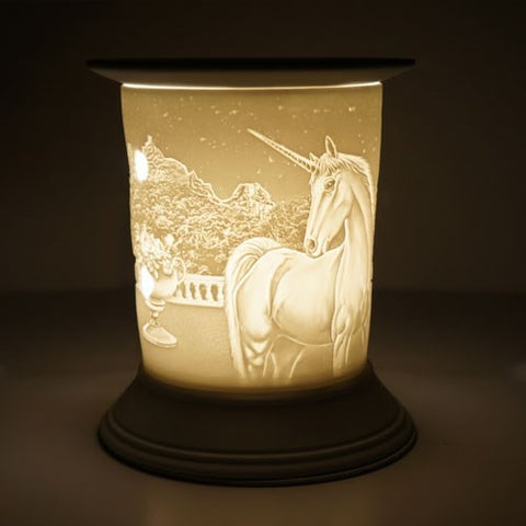 Ceramic Unicorn Electric Wax Burner - Candles Sniffs & Gifts