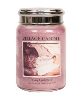Village Candle Limited Edition Cozy Cashmere Large Jar 26oz - Candles Sniffs & Gifts