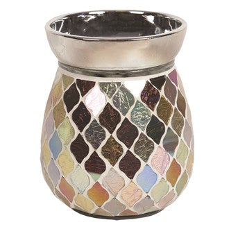 Copper & Gold Electric Wax Melt Burner 14cm - Candles Sniffs & Gifts