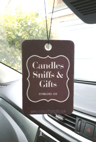 Green Apple Clean Car Freshener - Candles Sniffs & Gifts
