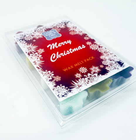Christmas Wax Melt Sample Pack - Candles Sniffs & Gifts