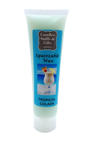 Tropical Colada Squeezable Wax - Candles Sniffs & Gifts