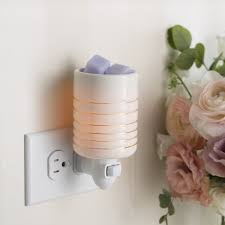 Electric UK Plug In Mini Wax Melt Burner Serenity - Candles Sniffs & Gifts