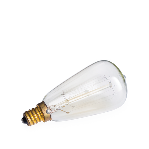 Edison bulb for electric wax melt burner (limit of 3 per customer) - Candles Sniffs & Gifts