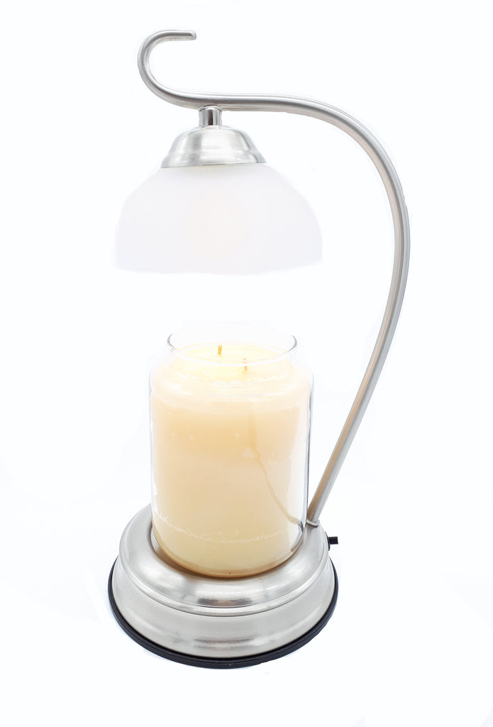 Silver Elegance Electric Candle Warmer Lantern Lamp 35w Candles Sniffs Gifts