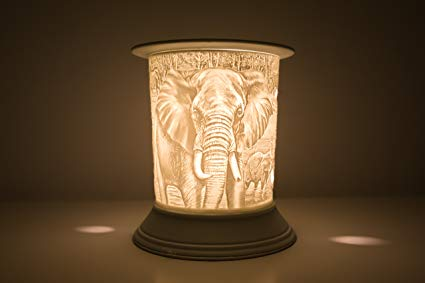 Ceramic Elephant Electric Wax Burner - Candles Sniffs & Gifts