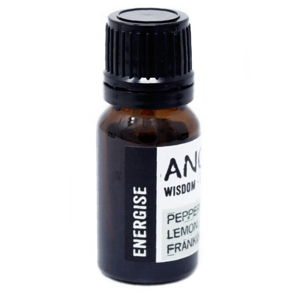 Energising Essential Oil For Aromatherapy Necklace - Candles Sniffs & Gifts