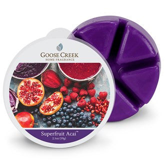 Superfruit Acai Goose Creek Scented Wax Melts - Candles Sniffs & Gifts