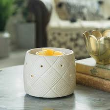 Geometric Fan Electric Wax Melt Burner - Candles Sniffs & Gifts