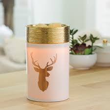 Golden Stag Christmas Illumination Electric Wax Burner - Candles Sniffs & Gifts