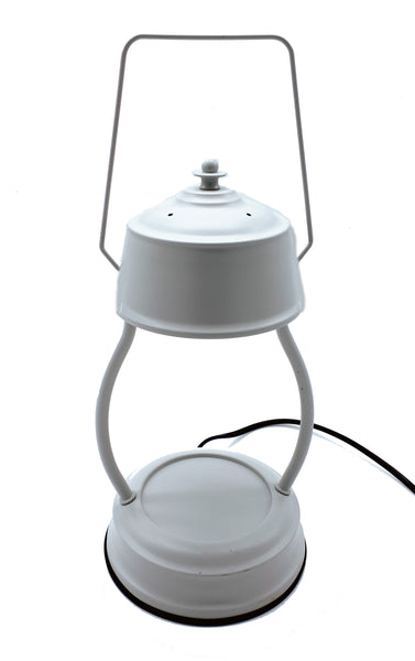 NEW Light Grey Electric Candle Warmer Lantern Lamp 35w - Candles Sniffs & Gifts