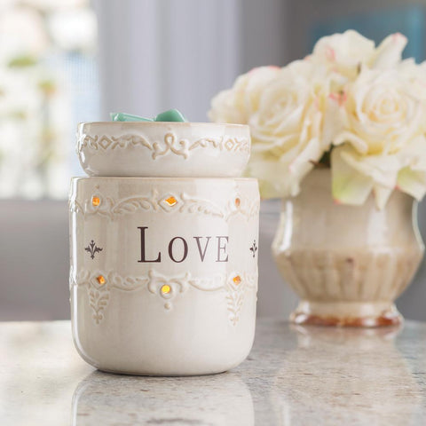 Live Love Laugh Illumination Electric Wax Burner - Candles Sniffs & Gifts
