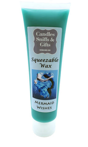 Mermaid Wishes Squeezable Wax - Candles Sniffs & Gifts