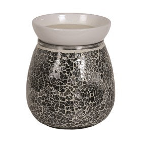 Midnight Electric Wax Melt Burner 14cm - Candles Sniffs & Gifts